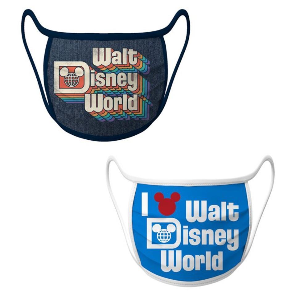 Walt Disney World Cloth Face Masks 2-Pack at Shop Disney