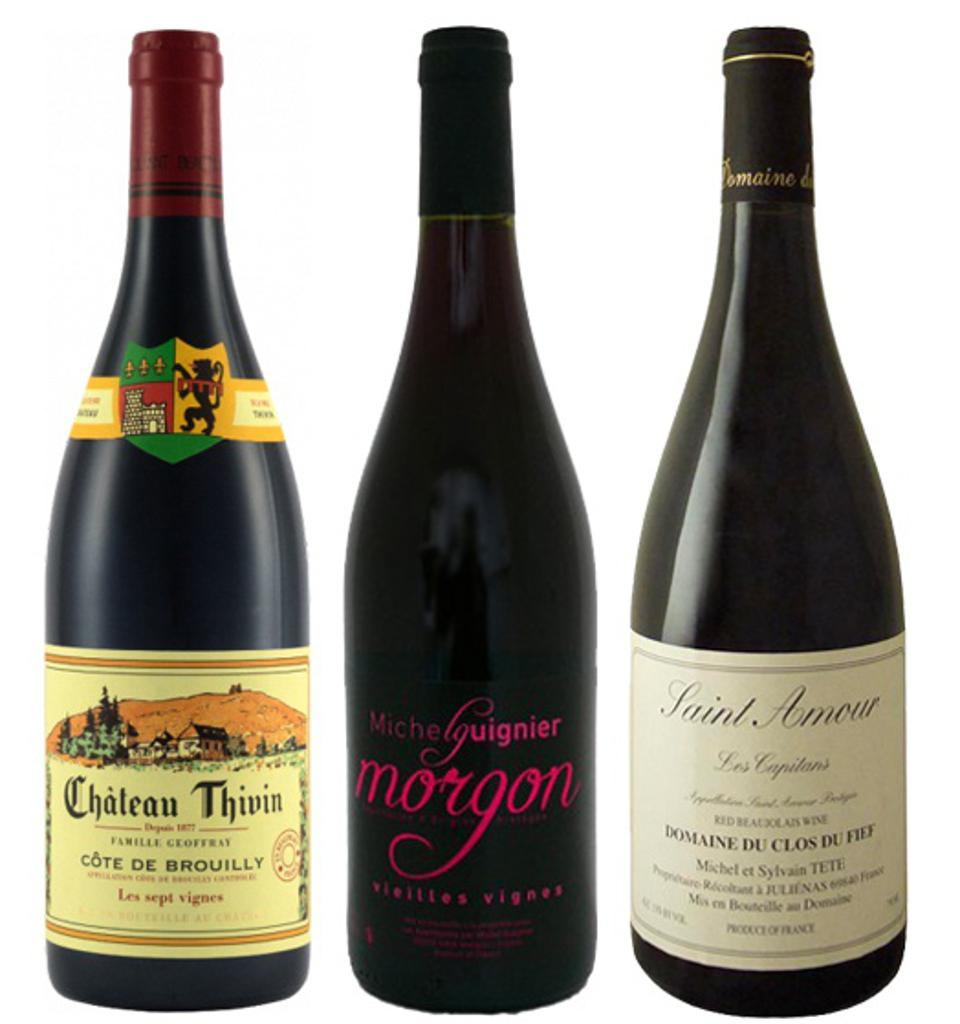 the Beaujolais wine region in France has 10 crus that produce fine wines at attractive prices