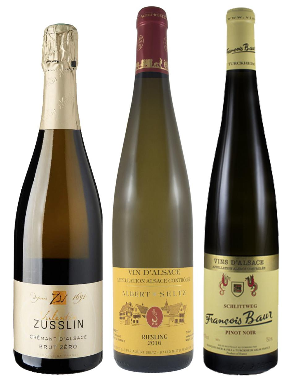 The French region of Alsace is one of the greenest in the country, leading organic wine farming.