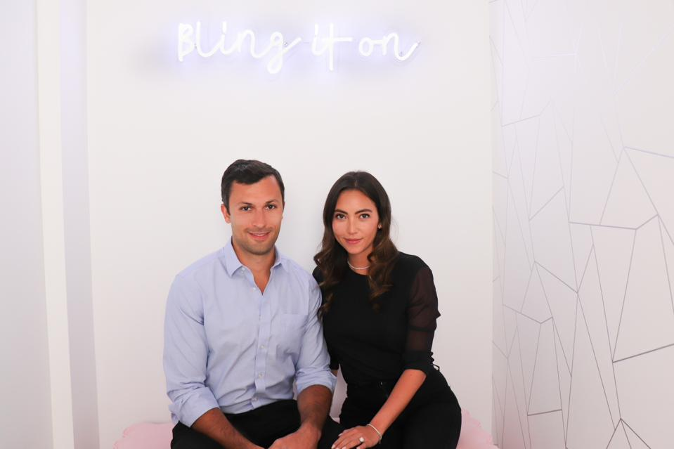 Kyle Simon, cofounder of Clear Cut, and Olivia Landau, founder of Clear Cut