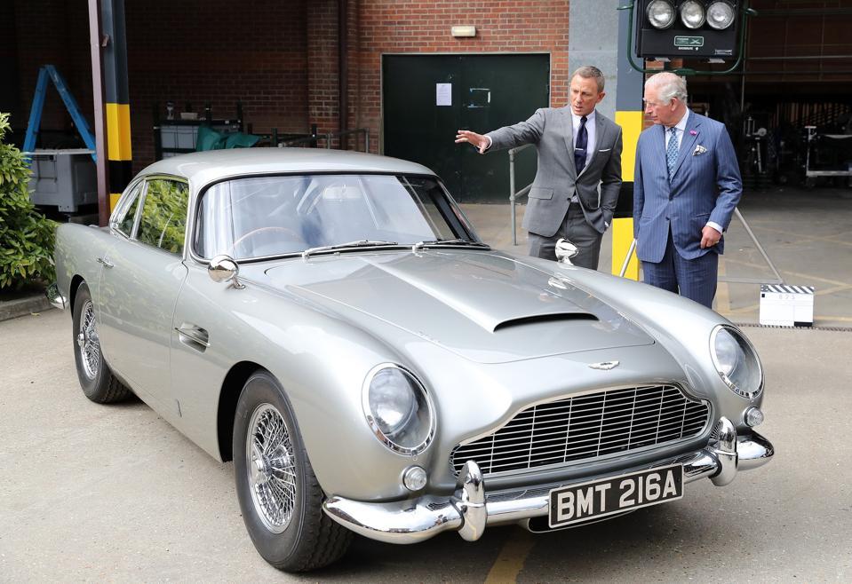 The Prince Of Wales Visits The James Bond Set