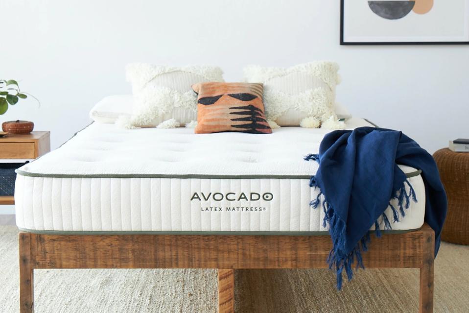 Earth day sales: Avocado Latex Mattress