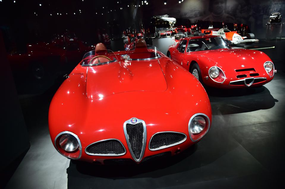 One of Imparato's first visits as Alfa Romeo CEO was to the museum at Arese.