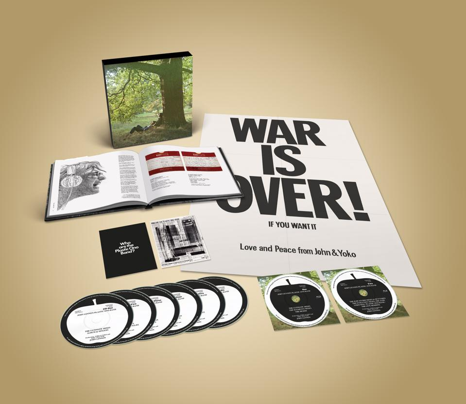 The ″John Lennon/Plastic Ono Band – The Ultimate Collection deluxe edition″ package