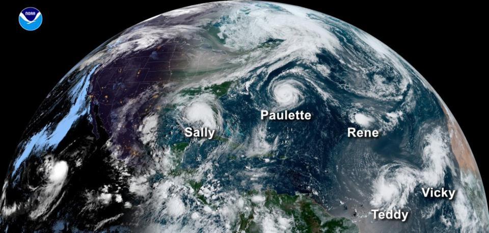 The 2020 Atlantic hurricane season produced 30 named storms and 13 hurricanes – six of which were major hurricanes. In April 2020, University of Arizona forecasters predicted 19 named storms and 10 hurricanes – including five major hurricanes.