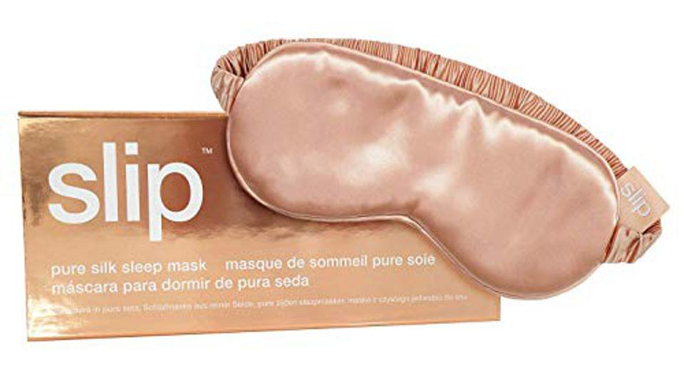 Best Mother's Day Gifts For Daughters: Slip Silk Sleep Mask, Rose Gold (One Size) - 100% Pure Mulberry 22 Momme Silk Eye Mask - Comfortable Sleeping Mask with Elastic Band + Pure Silk Filler and Internal Liner