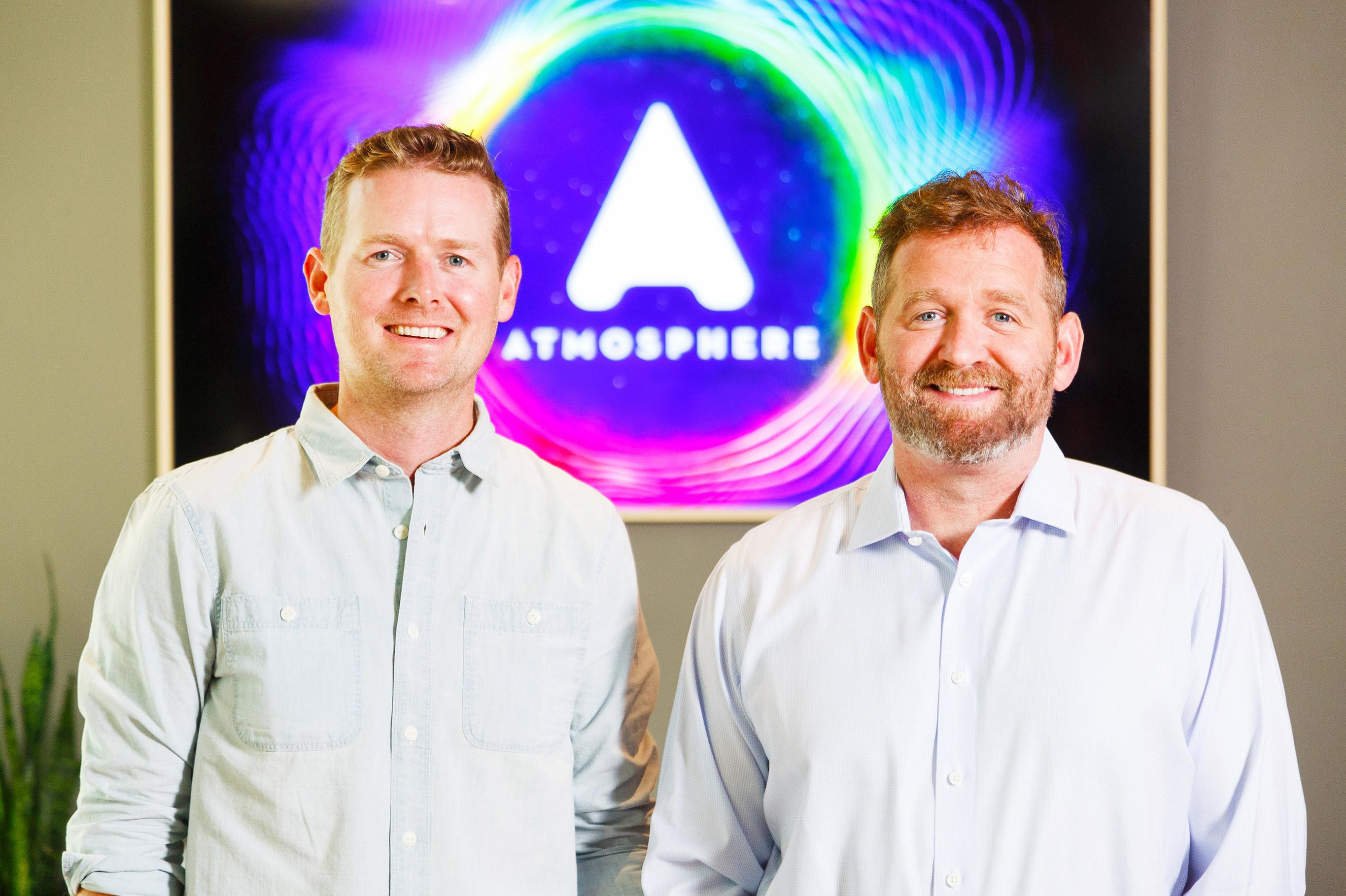Atmosphere TV, founded by Leo and John Resig, has raised $25 million.