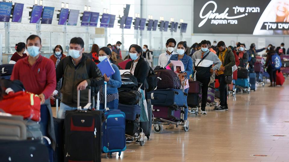 ISRAEL-HEALTH-VIRUS-FLIGHT