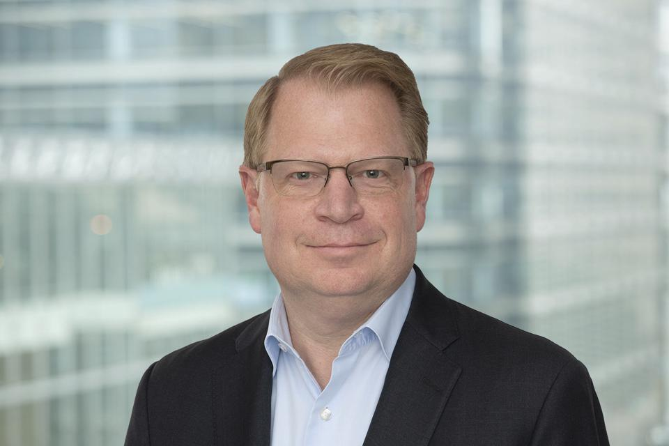 John Hinshaw came to HSBC after technology and operations exec roles at Boeing and HPE