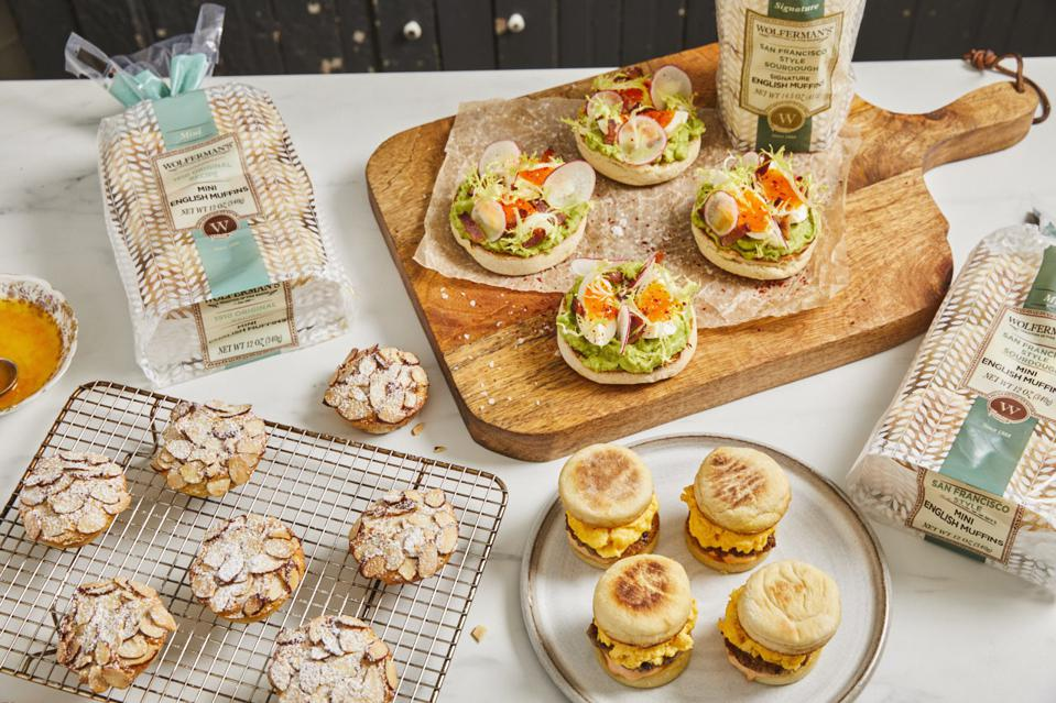 You'll want to try all 3 of Chef Curtis Stone's new, exclusive recipes using Wolferman's Bakery English Muffins.