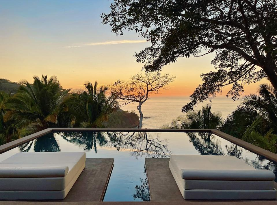 Dramatic views from Villa One pool