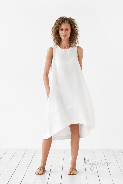 Meghan Markle wore this MagicLinen dress