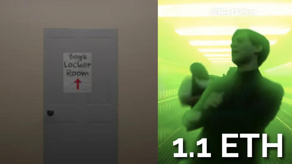 Two screenshots of a meme made by IGotSilver