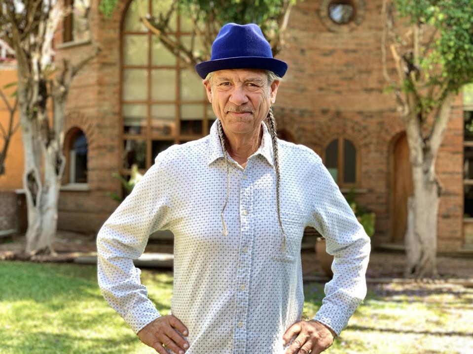A portrait of cannabis activist Steve DeAngelo.