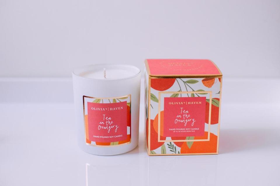 OLIVIA'S HAVEN Tea In The Orangery