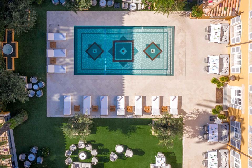 Aerial view Pan Dei Palais