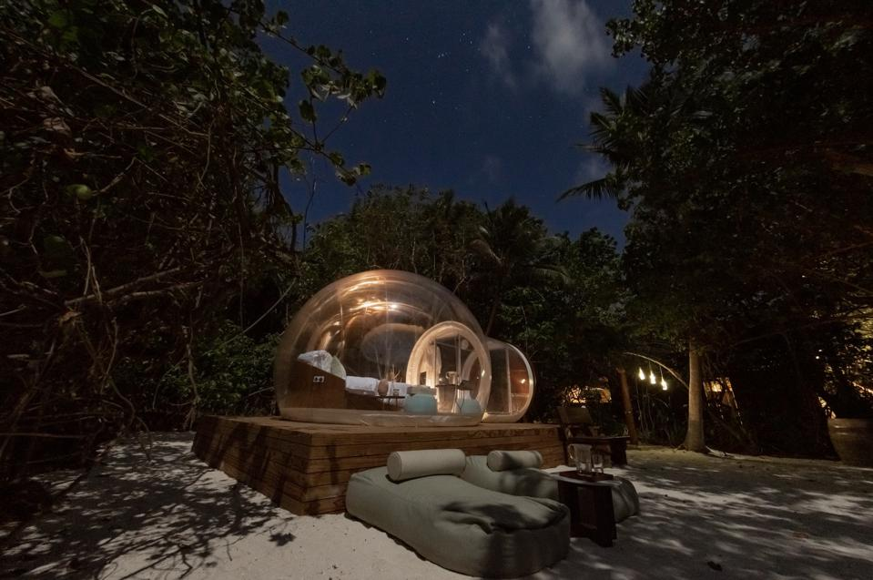 Amilla Maldives recently launched its new glamping experience.