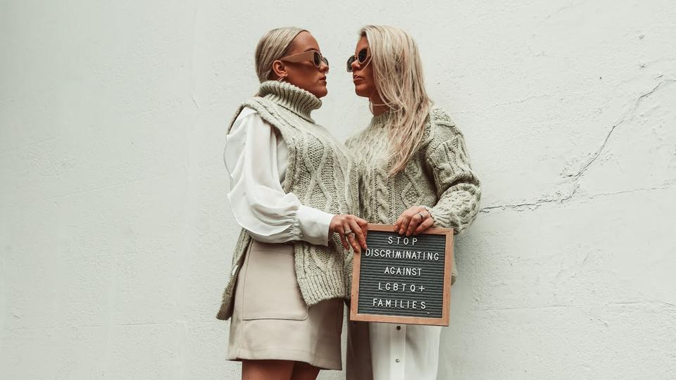 Influencer YouTube couple Wegan are campaigning for the U.K. to change its rules that prevent equal access to IVF for same-sex ouples
