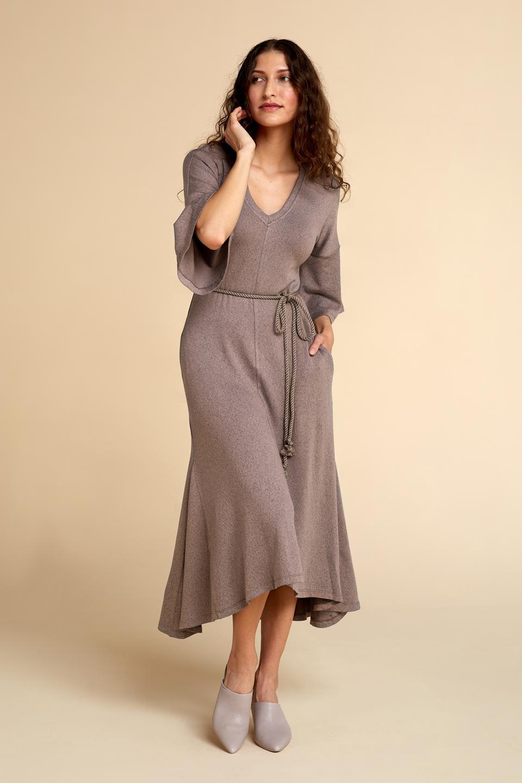 Akala Sweater Dress wrap