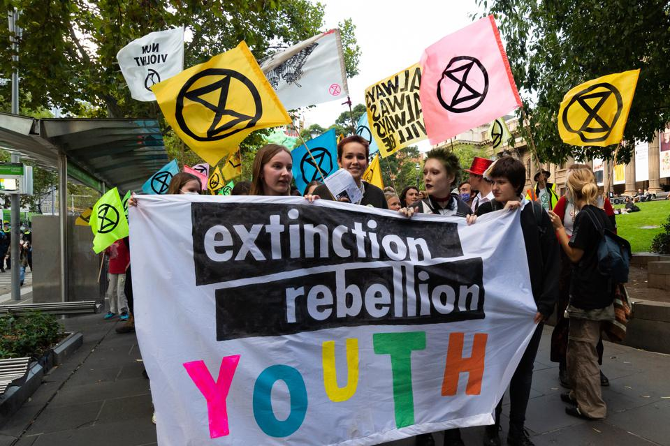 Extinction Rebellion Youth Protest