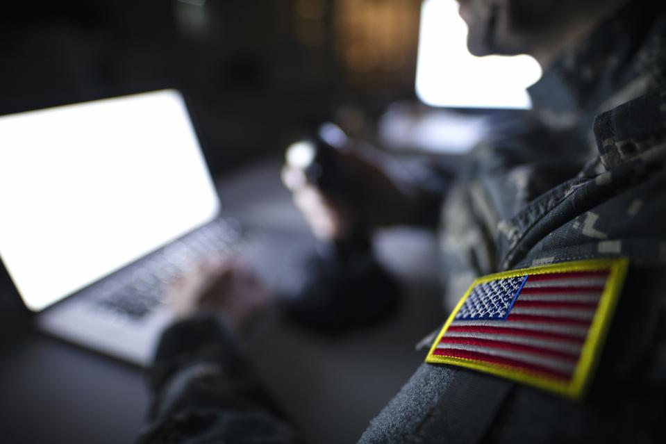USA military intelligence control center.