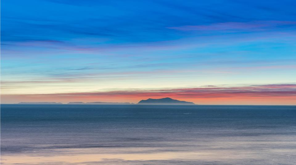 channel islands sunset photo luxury home santa barbara