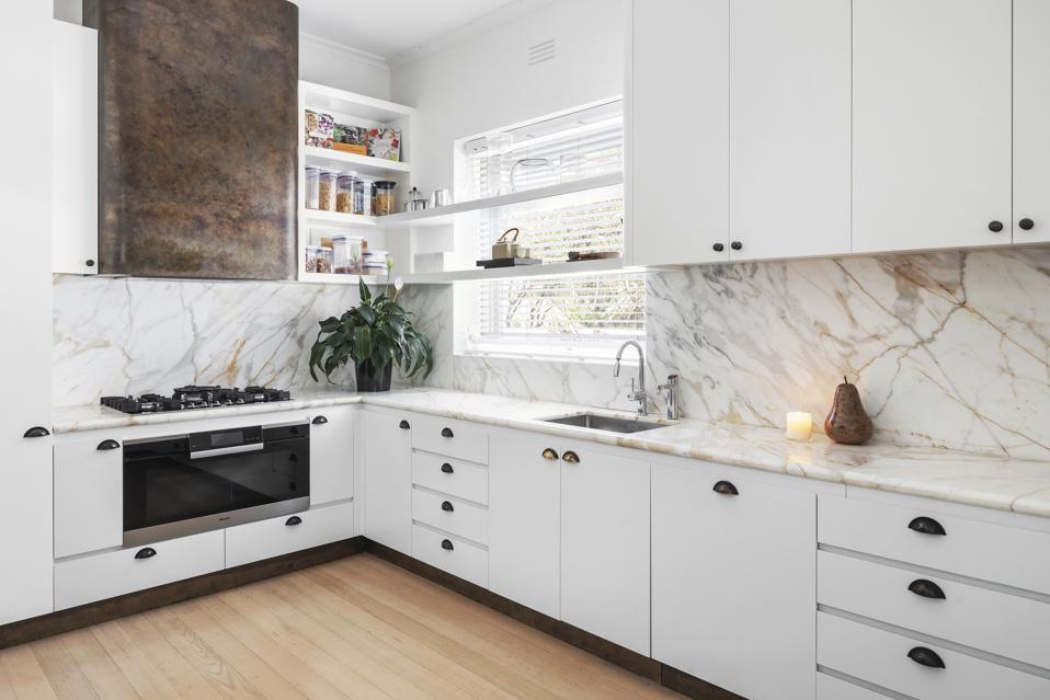 kitchen inside 7 Edzell Avenue Toorak, Victoria, Australia
