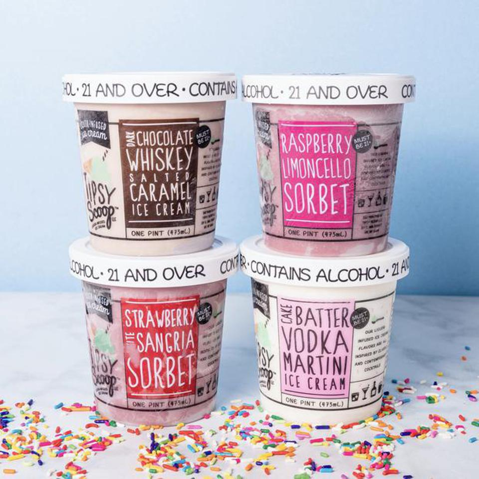 Tipsy Scoop Mother's Day Boozy Ice Cream Pack