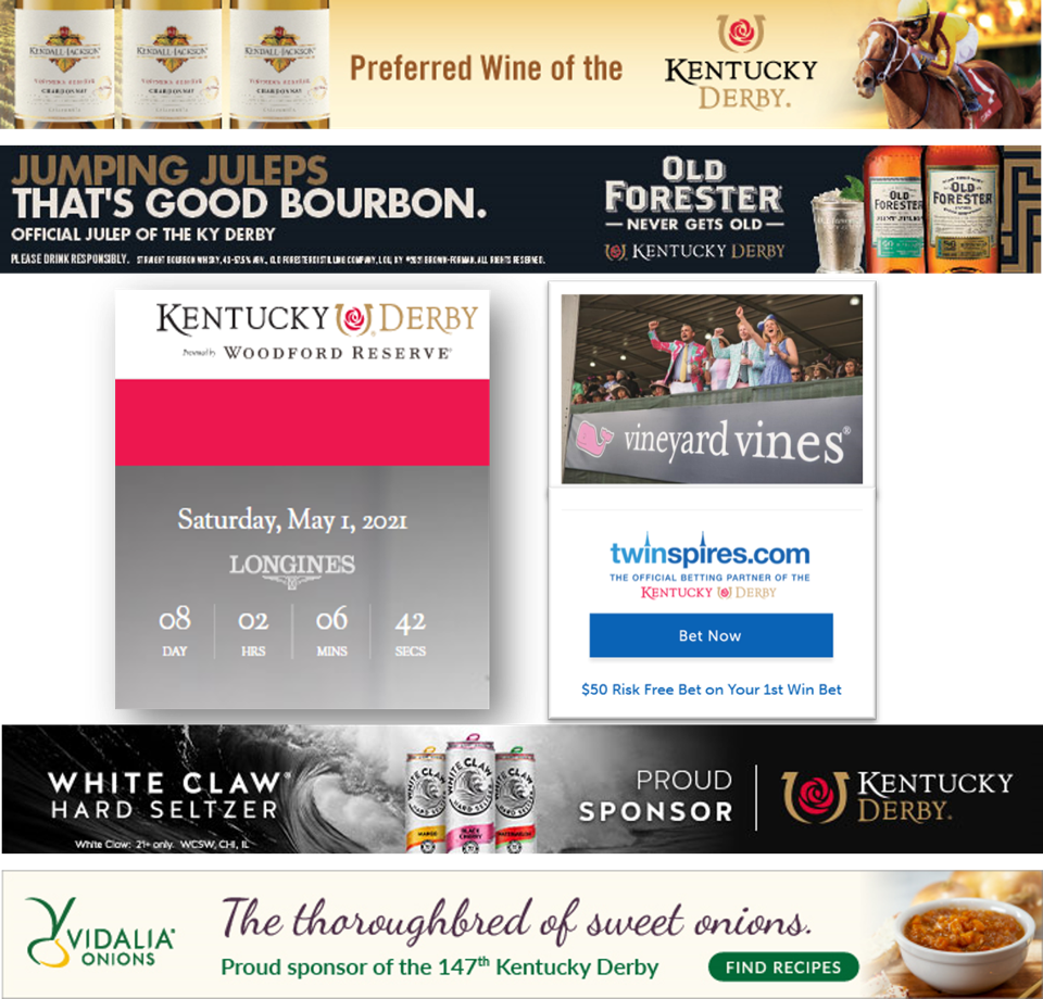 Corporate sponsors of the Kentucky Derby | Churchill Downs