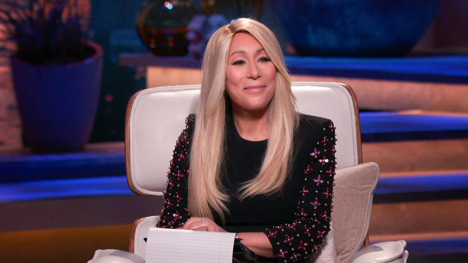 Close-up of Lori Greiner on ″ Shark Tank