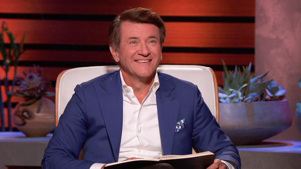 Cllse-up of Robert Herjavek making an offer