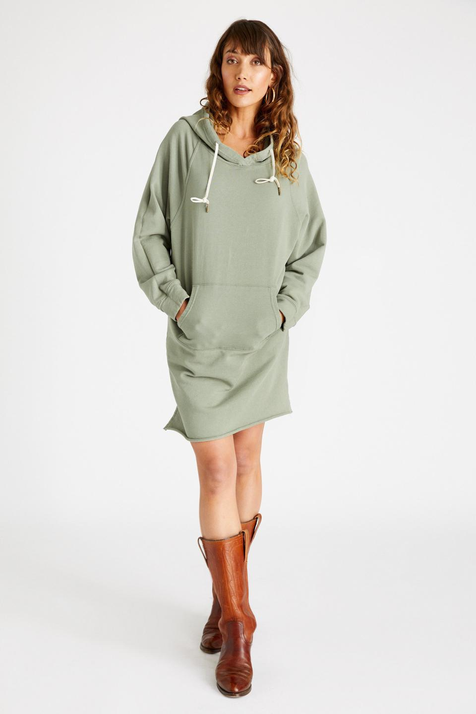 ETICA Layla Hooded Knit Dress with hood