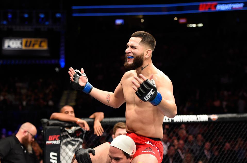 Jorge Masvidal faces Kamaru Usman in the main event of UFC 261