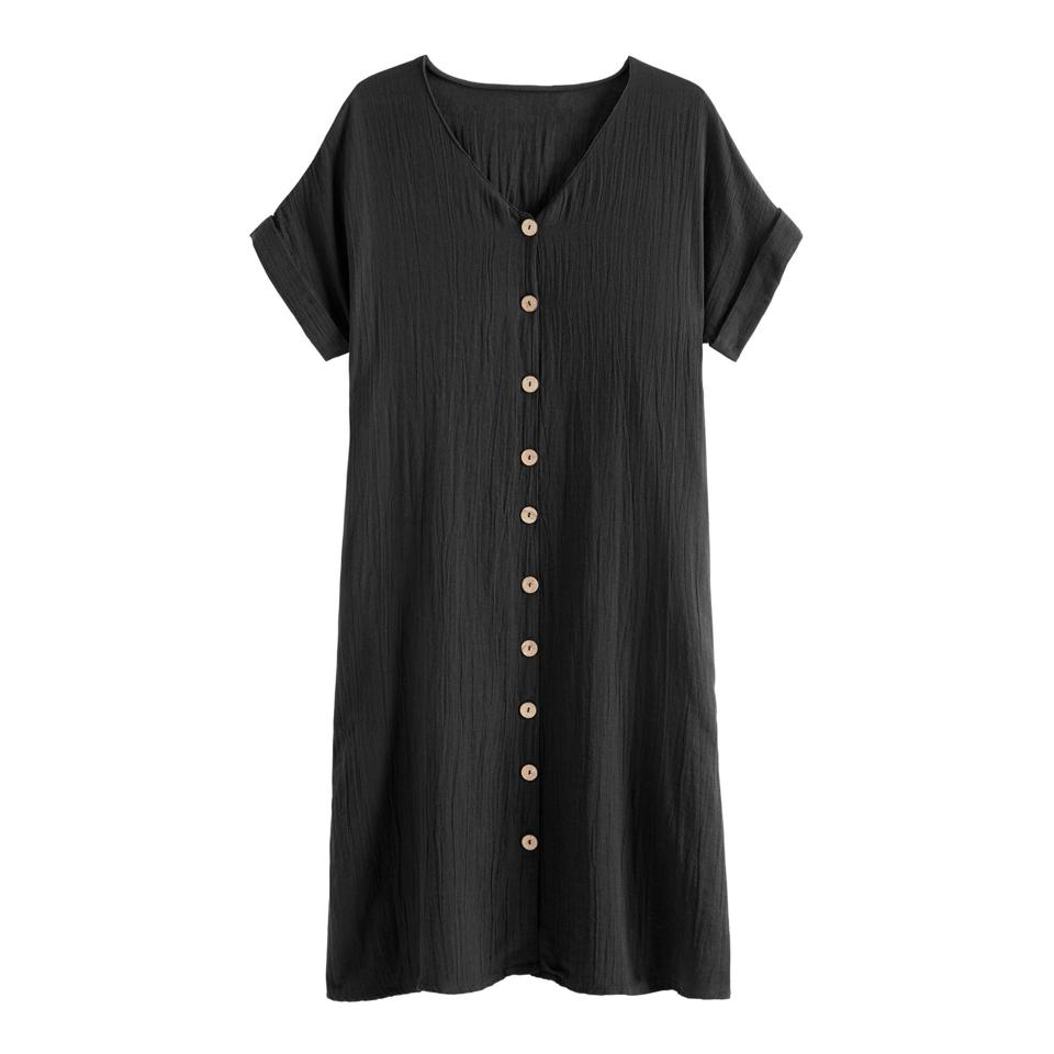 World Market Mara Dress With Pockets black dress