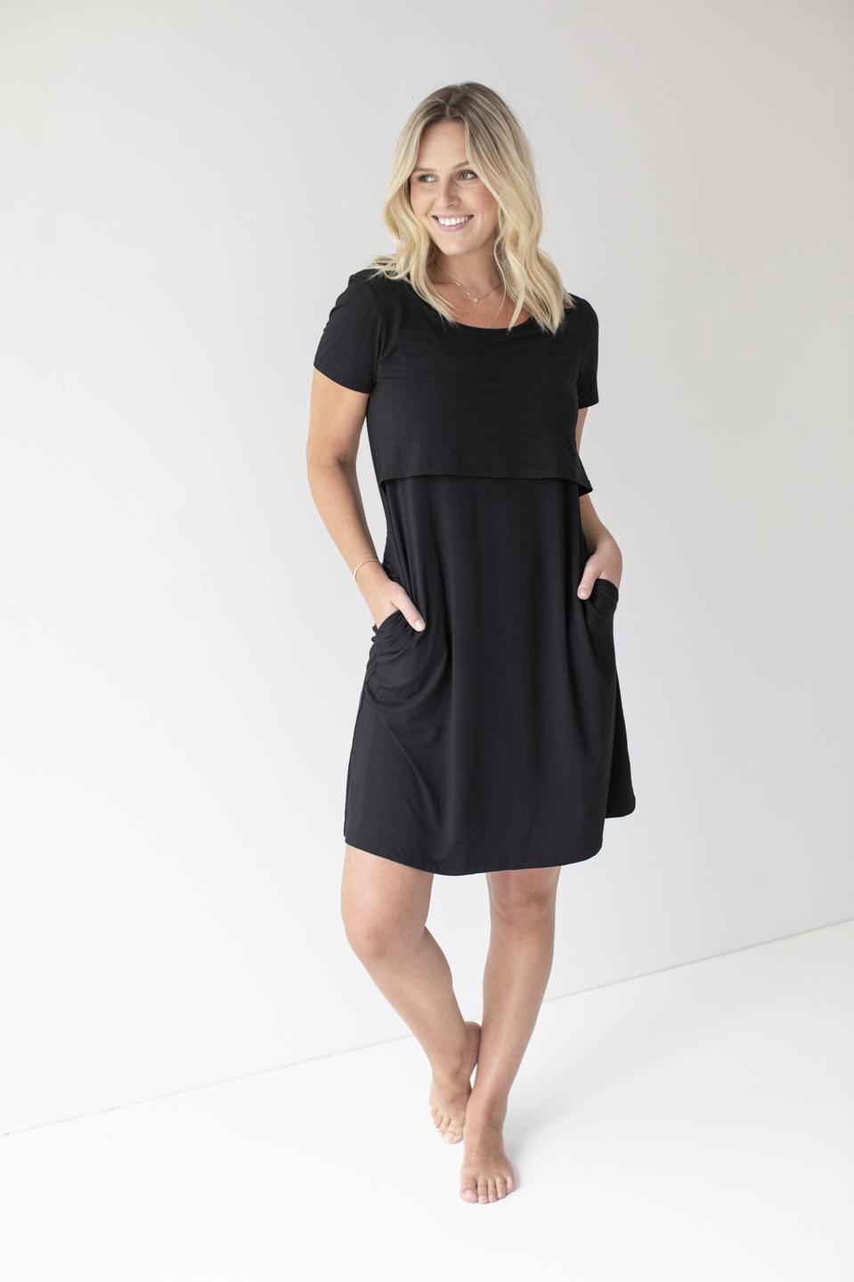 Kindred Bravely Eleanora Lounge Dress for new moms