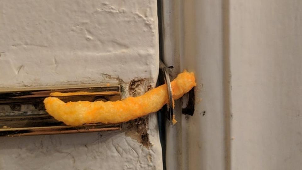 cheeto as lock