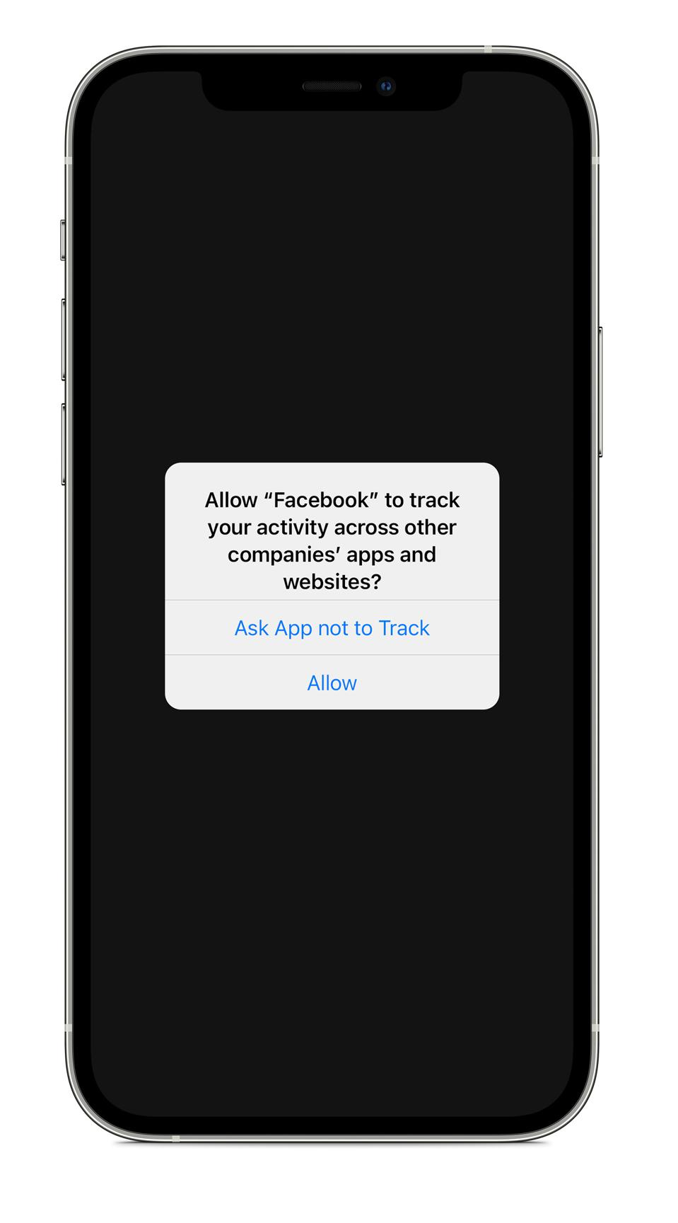 Apple's new iPhone privacy feature ATT forces Facebook to ask to track.
