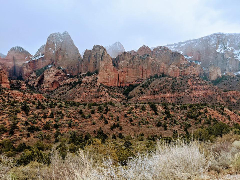 Zion National Park is also included in a list of top-ranked searches on Googles relating to U.S. national parks.