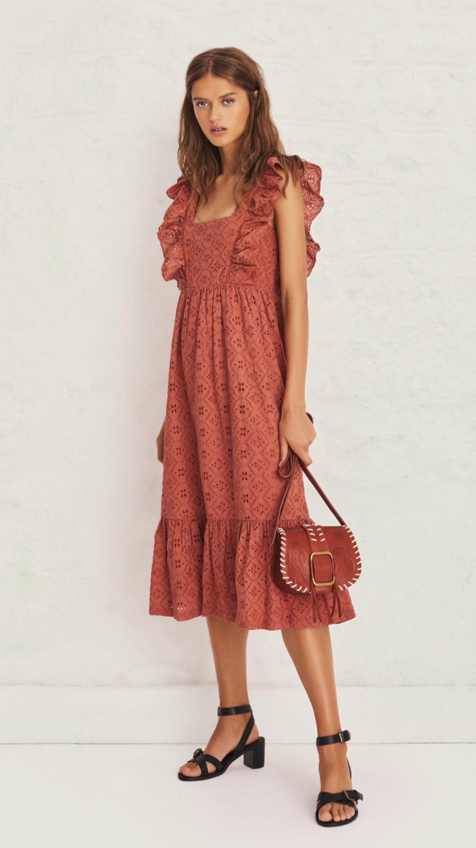 Ba&sh Byrd Dress pretty feminine