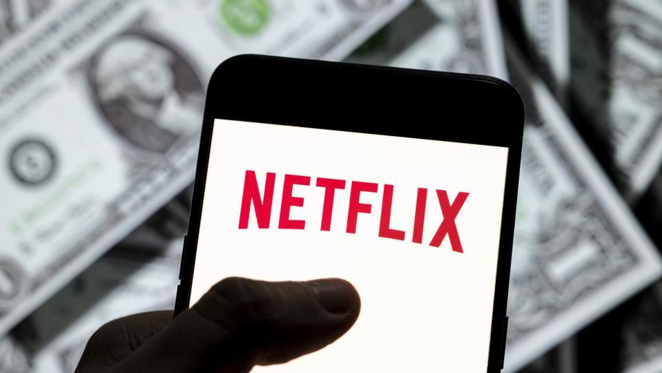 Le logo Netflix du service à la demande mondial américain