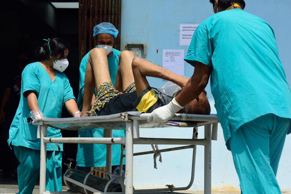 Covid-19 patients in Kolkata