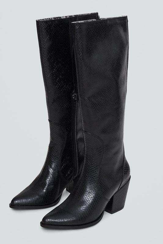 vegan high boots