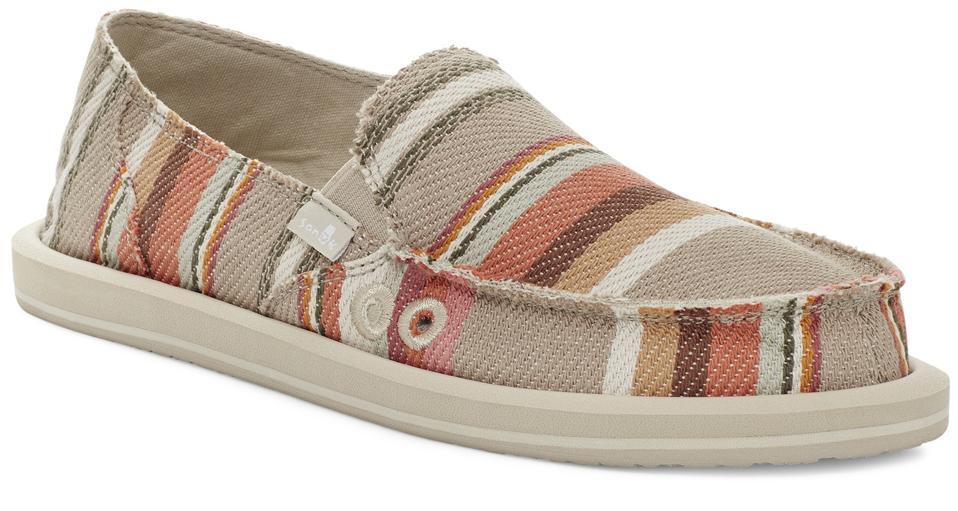 Sanuk Donna Blanket pattern vegan shoes