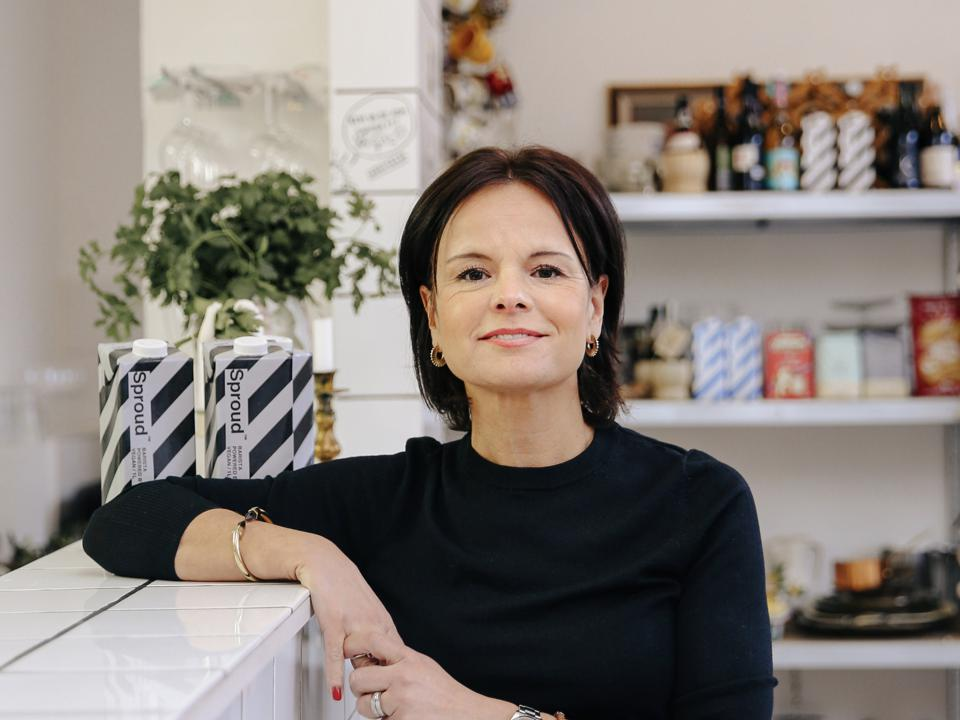 Sproud CEO and founder Maria Tegman: taste is everything