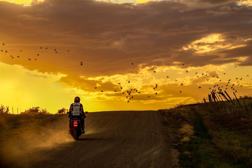 Sadhguru on the road
