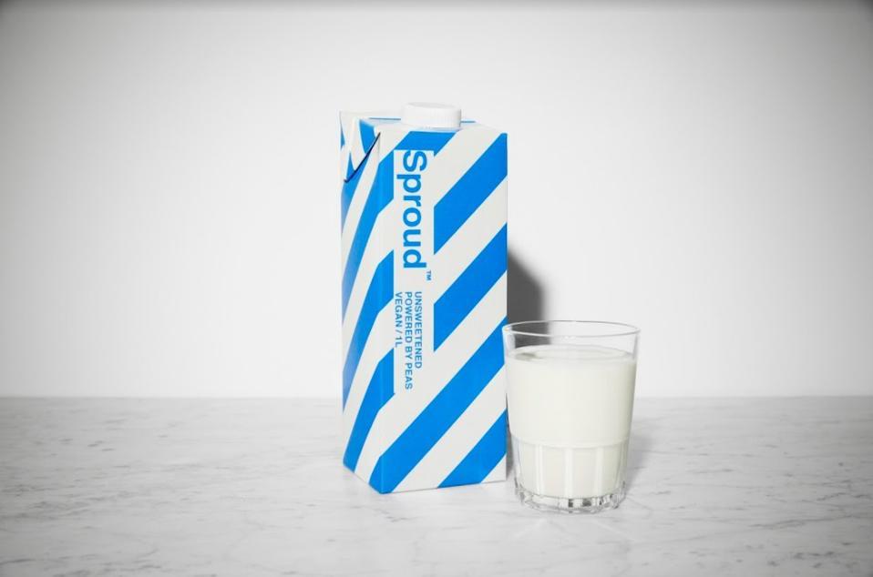 SUGARWISE has certified Sproud's unsweetened pea milk as sugar-free