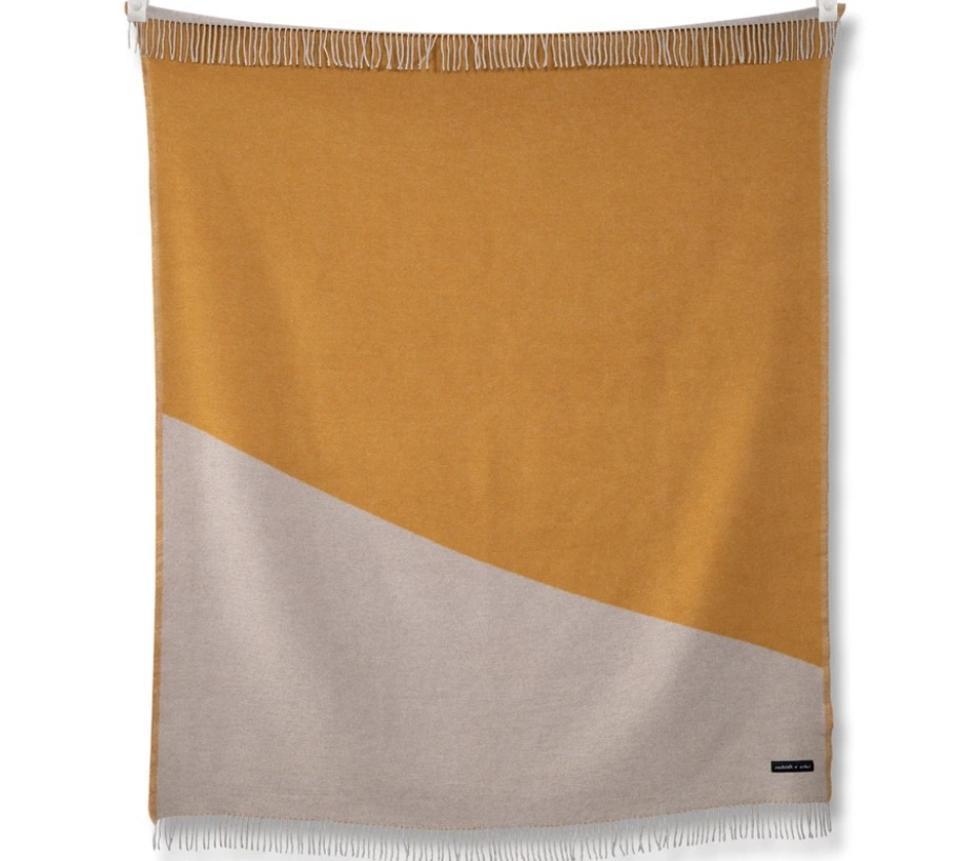 Sackcloth & Ashes TwoTone Turmeric Blanket
