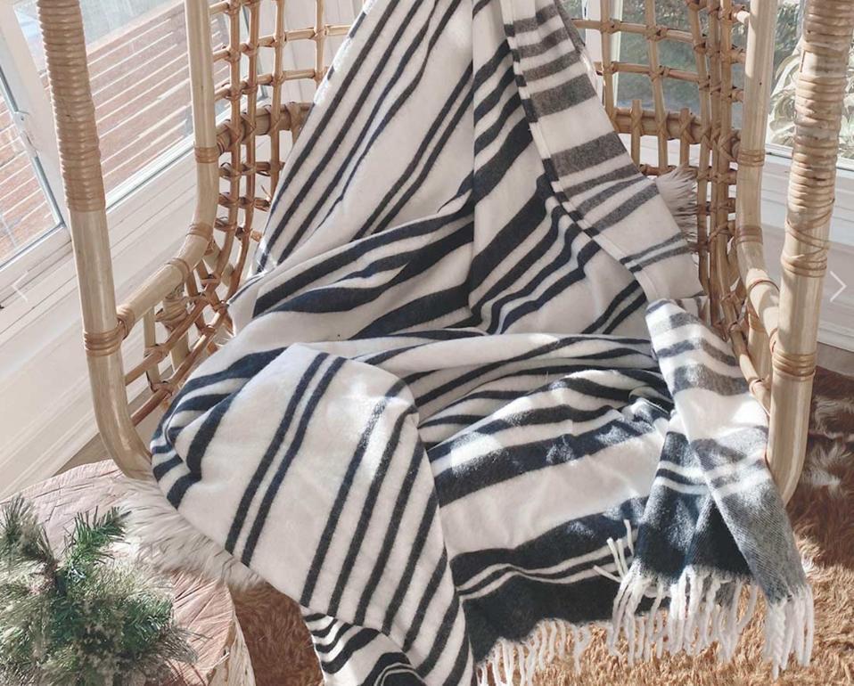 Thula Tula Xhosa Stripe Throw