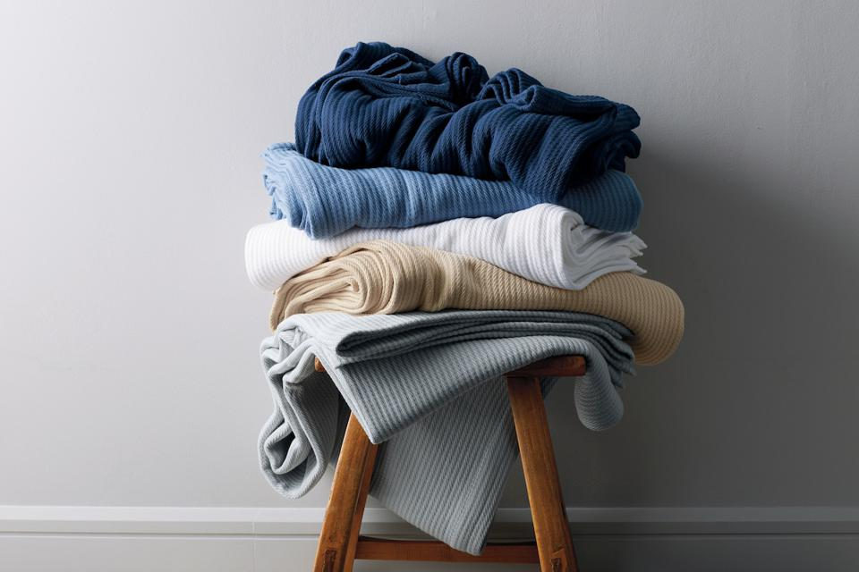 The Company Store Cable Knit Micro Cotton Blanket