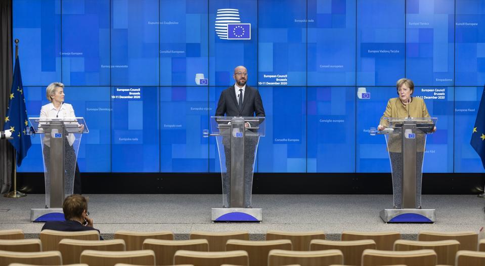 EU Summit Held In Brussels Day 2